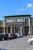 Barnes & Noble Booksellers Store. Wyomissing, PA, USA - June 14, 2018: Barnes & Noble is a large bookseller with over 630 retail stores in all 50 U.S. states stock photography