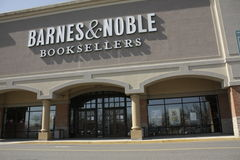 Barnes and Noble Booksellers. Front of Barnes and Noble Booksellers Royalty Free Stock Photo