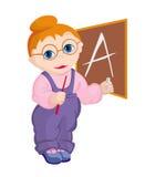 Barnet - lärare Royaltyfria Bilder