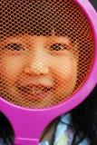 barnet like tennis Royaltyfri Bild