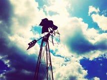 barnet mal windmillen för spelrum s Royaltyfri Foto
