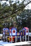 Barnet parkerar i skog Royaltyfri Foto