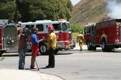 Barnett Fire Royalty Free Stock Images