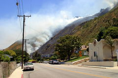 Barnett Fire Stock Photos