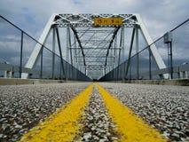 Barnett Stahl-Brücke stockfotos