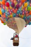 BARNEVELD, DIE NIEDERLANDE - 28. AUGUST: Bunte Luftballone ta Lizenzfreie Stockfotografie