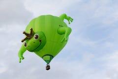 BARNEVELD, OS PAÍSES BAIXOS - 28 DE AGOSTO: Balões de ar coloridos Ta fotografia de stock royalty free