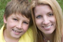 barnförälder Royaltyfri Fotografi