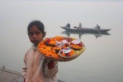 barnflicka india Royaltyfri Bild