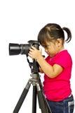 barnfotografi Arkivfoton