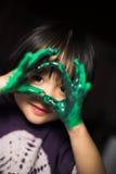 barnglädje royaltyfri fotografi