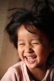 barnglädje Arkivbild
