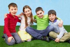 barngrupp Royaltyfri Fotografi