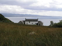 Barnhillhuis op het Eiland van het Juragebergte stock foto