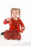 barnjulprydnadar Royaltyfria Foton