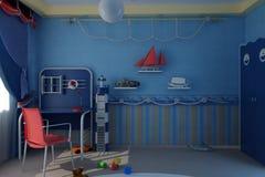 barnkammare Fotografering för Bildbyråer