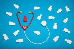 Barnkardiologi, sjukdomhjärta Knip omsorg royaltyfri bild