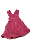 barnkläderklänning arkivbild