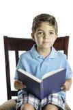 Barnläsning Fotografering för Bildbyråer