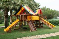 barnleklekplats s Arkivfoto