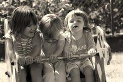 barnlekplats Royaltyfria Foton