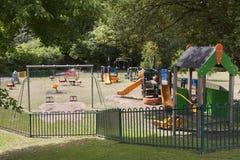 barnlekplats Arkivbild