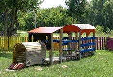 barnlekplats s Fotografering för Bildbyråer