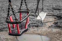 barnlekplats s Arkivbild