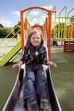 barnlekplatsglidbana Fotografering för Bildbyråer