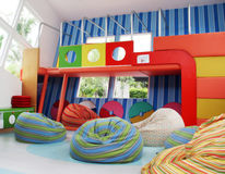 barnlokal Arkivfoto
