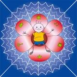 barnlokalrengöringsduk Royaltyfria Bilder