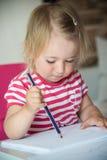 barnmålarfärger Royaltyfri Fotografi
