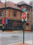 Barnm?ns institut, YMI Asheville, NC 28801 royaltyfri foto