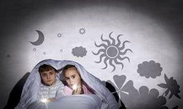 Barnmardrömmar Fotografering för Bildbyråer