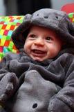 Barnmaskering för halloween Arkivbild