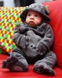 Barnmaskering för halloween Royaltyfri Fotografi