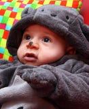 Barnmaskering för halloween Royaltyfria Bilder