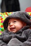 Barnmaskering för halloween Arkivbilder