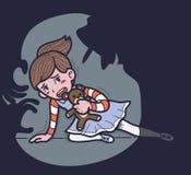 Barnmisshandel Royaltyfri Bild