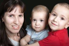 barnmoder Royaltyfri Fotografi