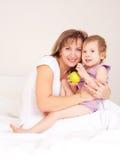 barnmoder Royaltyfri Foto