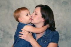 barnmoder Royaltyfria Bilder