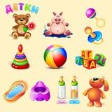 Barnobjekt och små djur Royaltyfri Fotografi