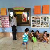 barnomsorg Fotografering för Bildbyråer
