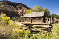 Barns. Historic ghost town of Grafton, Utah Royalty Free Stock Photography