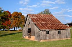 Barns Becoming Extint royalty free stock image