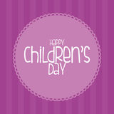 Barns dag Arkivbild
