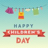 Barns dagbegrepp Arkivfoton