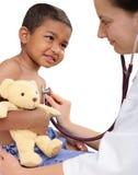 barns doktor Arkivfoton
