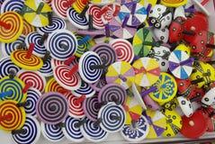 barns färgrika toys Royaltyfria Foton